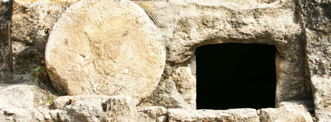 Because the Tomb was empty!
